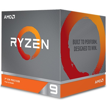 AMD CPU Ryzen 9 3900X クーラー付 (12C24T3.8GHz105W) 100-100000023BOX