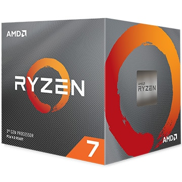 AMD CPU Ryzen 7 3700X クーラー付 (8C16T3.6GHz65W) 100-100000071BOX