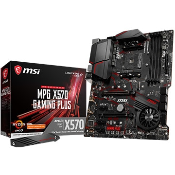 MSI ゲーミングマザーボード MPG X570搭載 GAMING PLUS MPGX570-GAMING-PLUS