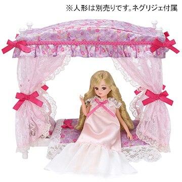 タカラトミー LF-07 ゆめみるお姫さま プリンセスベッドセット[リカちゃん]