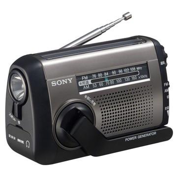 SONY FM/AMポータブルラジオ 手回し充電対応 ICF-B99