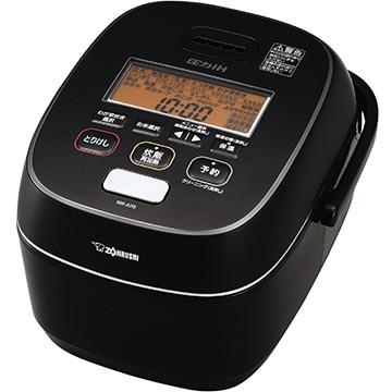 象印 圧力IH炊飯器 極め炊き 5.5合炊き ブラック NW-JU10-BA