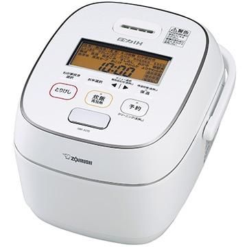 象印 圧力IH炊飯器 極め炊き 5.5合炊き ホワイト NW-JU10-WA