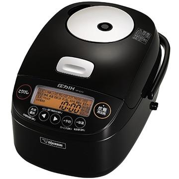 象印 圧力IH炊飯器 極め炊き 5.5合炊き ブラック NP-BJ10-BA