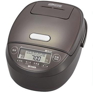 タイガー魔法瓶 圧力IH炊飯器 炊きたて 5.5合炊き ブラウン JPK-B100-T
