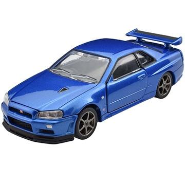 タカラトミー トミカプレミアムRS 日産 スカイライン GT-R V・specII Nur (ベイサイドブルー)