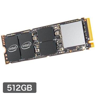 intel 内蔵SSD 512GB 760p M.2 PCIEx4 INT-SSDPEKKW512G8XT