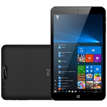 KEIAN 8インチ Windowsタブレット WIZ メモリ2GB KI8-BK