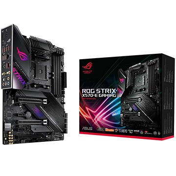 ASUS AMD X570 ATXゲーミングマザーボード ROG STRIX X570-E GAMING ROG/X570-E/GAMING