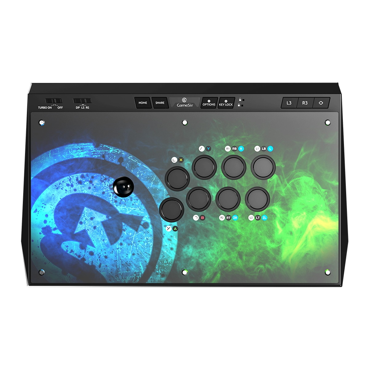 GameSir アーケード 全三和製ジョイスティック&ボタン GameSirC2