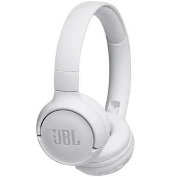 JBL TUNE 500BT Bluetoothオンイヤーヘッドホン ホワイト JBLT500BTWHT