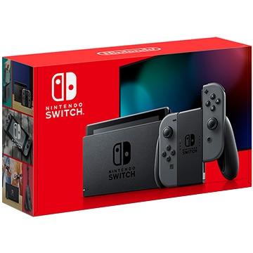 (2019年8月発売新型) NintendoSwitch Joy-Con(L)/(R) グレー