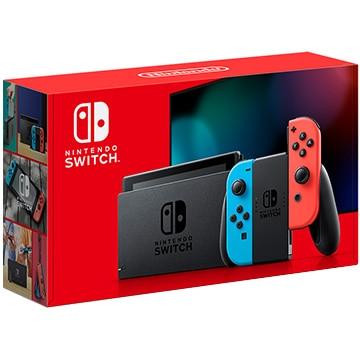 任天堂 (2019年8月発売新型) Nintendo Switch Joy-Con(L) ネオンブルー/(R) ネオンレッド HAD-S-KABAA