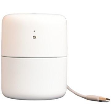 オリンピア照明 超音波式卓上加湿器 コイス ホワイト GHA001W-FJ