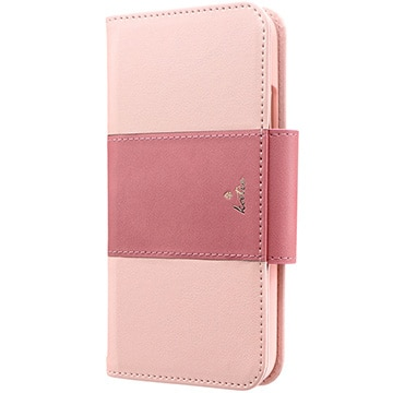 MSソリューションズ iPhone 11 PREMIER Katie 手帳型ケース ピンク LP-IM19PREKPK