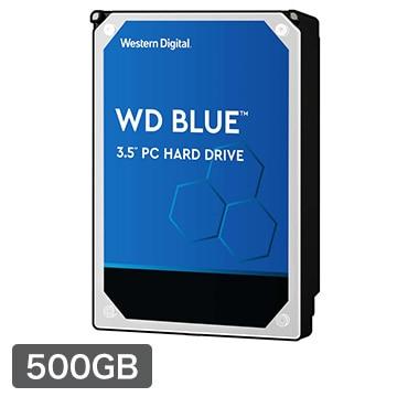 WesternDigital ■WD Blue シリーズ 3.5インチ 内蔵HDD 500GB 7200rpm WD5000AZLX-R