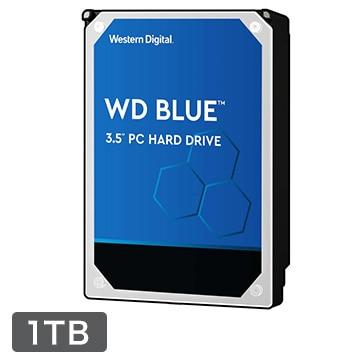 WesternDigital ■WD Blue シリーズ 3.5インチ 内蔵HDD 1TB 5400rpm WD10EZRZ-RT