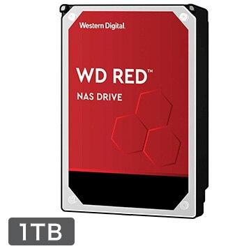 WesternDigital ■WD Red シリーズ NAS向けHDD 3.5インチ 1TB WD10EFRX-R