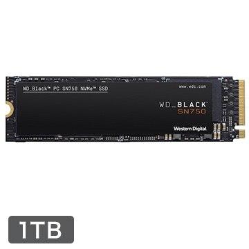 WesternDigital ★■WD BLACKシリーズ SN750 NVMe M.2 SSD 1TB WDS100T3X0C