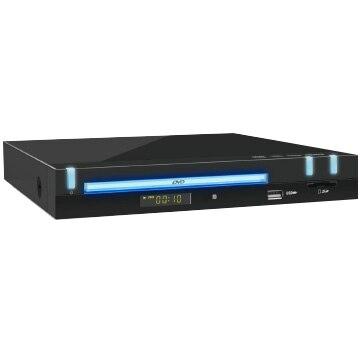 オーセラス HDMIケーブル付DVDプレーヤー ブラック DP-10-BK