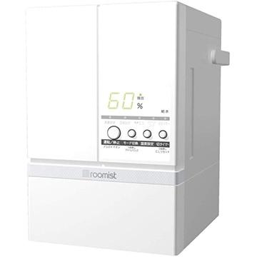 三菱 スチームファン蒸発式加湿器 ルーミスト ピュアホワイト SHE60SD-W