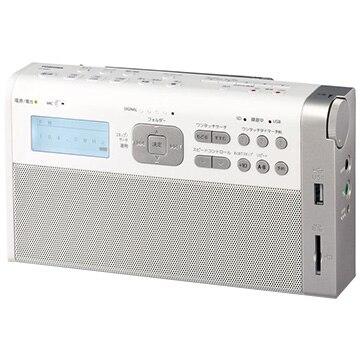 東芝 SD/USB録音ラジオ TY-RHR1-W