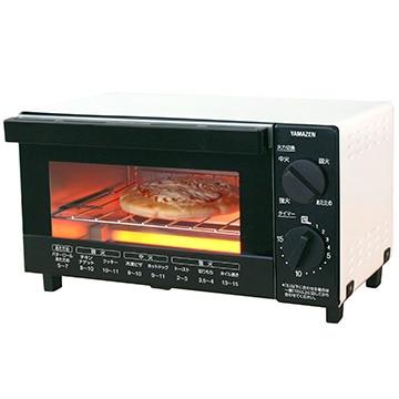 YAMAZEN 山善 山形パンも焼けるトースター 4段階火力切替可能 YTB-D100(W)
