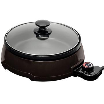YAMAZEN 山善 グリル鍋 コンパクト 焼く・煮る・蒸すの1台3役 YGA-121(T)