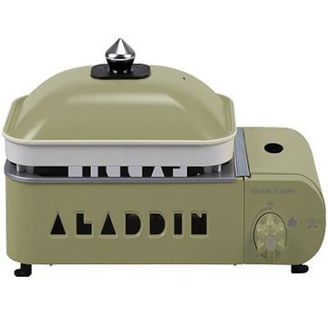 ロゴスコーポレーション LOGOS X ALADDIN ガスホットプレート プチパン 数量限定 Bambooまな板付き! 81060010