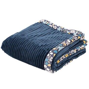 西川 あったか寝具 スカンジナビアンパターンコレクション ウォッシャブル合繊掛けふとん ネイビー AE09600095/NAVY