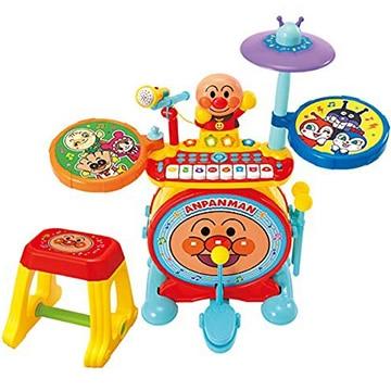 ジョイパレット アンパンマン ノリノリライブ♪BIG電子ドラム&キーボード