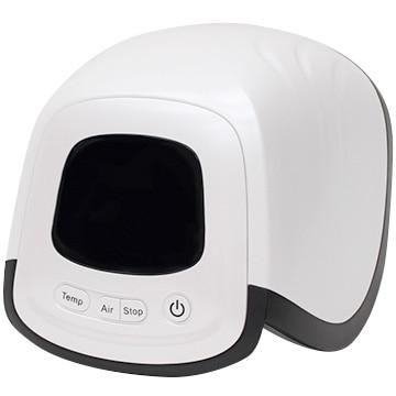 ヒロ・コーポレーション 充電式ひざ用エア式マッサージ器 ホワイト HHM-01-W