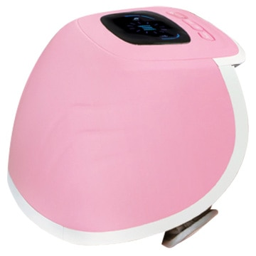 ヒロ・コーポレーション 充電式ひざ用エア式マッサージ器 ピンク HHM-02-P