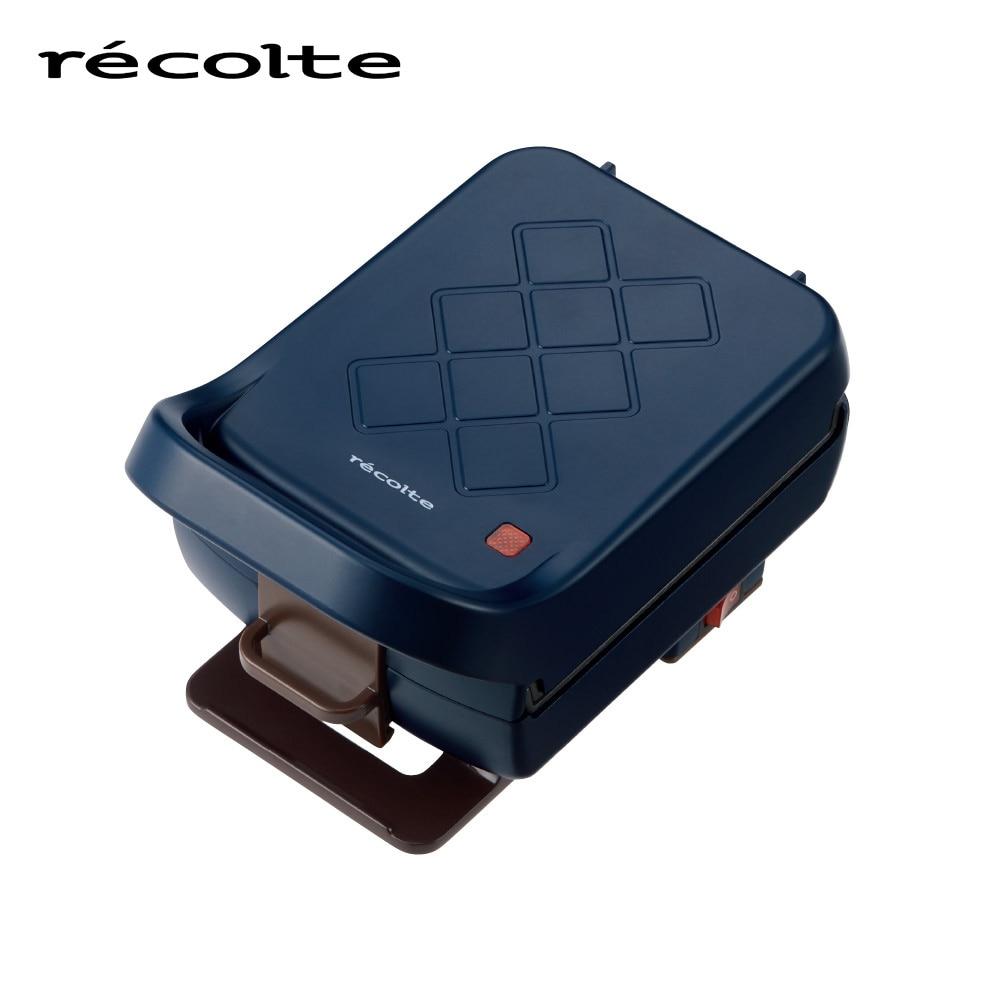 recolte(レコルト) プレスサンドメーカー プラッド ネイビー RPS-2-NV