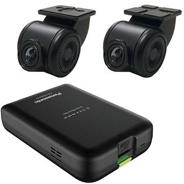 Panasonic ストラーダ連動 前後2カメラ ドライブレコーダー CA-DR03TD