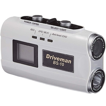 アサヒリサーチ バイク用ドライブレコーダー ホワイト WiFI対応 BS-10-W