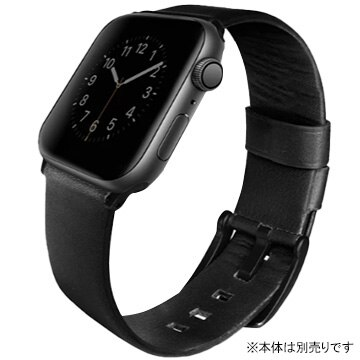 UNIQ(ユニーク) Mondain Apple Watch 44 Strap Midnight UNIQ-44MM-MONBLK