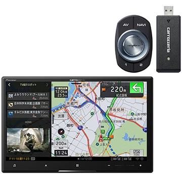 パイオニア サイバーナビ 8V型カーナビ HD/地デジ/DVD/Bluetooth ネットワークスティック同梱 AVIC-CL910-DC
