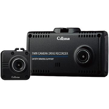 セルスター 前後2カメラ フルHDドライブレコーダー 32GB microSD付属 CS-91FH