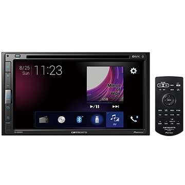 Pioneer 6.8V型ワイドモニター DVD/CD/Bluetooth/USB チューナーメインユニット FH-6500DVD