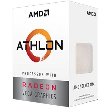 AMD Athlon 3000G(2C4T TDP35W AM4)With Cooler YD3000C6FHBOX