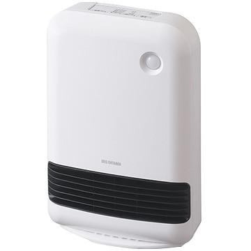 アイリス 人感センサー付大風量セラミックファンヒーター ホワイト JCH-12TD4-W