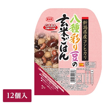 むらせライス ■◇八種彩豆の玄米ごはん(12入り) 4050131671