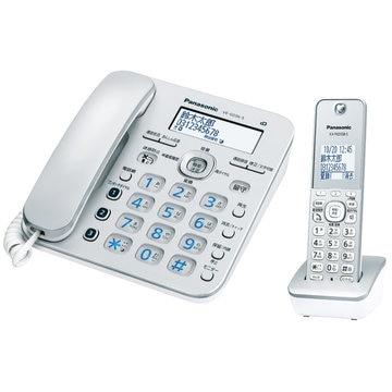 パナソニック コードレス電話機(子機1台)(シルバー) VE-GD36DL-S
