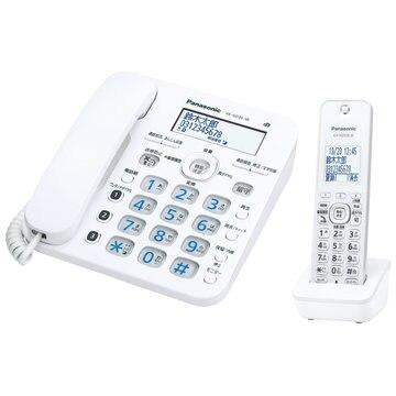 パナソニック コードレス電話機(子機1台)(ホワイト) VE-GD36DL-W