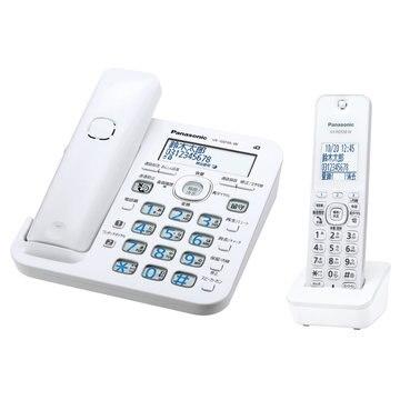 パナソニック コードレス電話機(子機1台)(ホワイト) VE-GD56DL-W