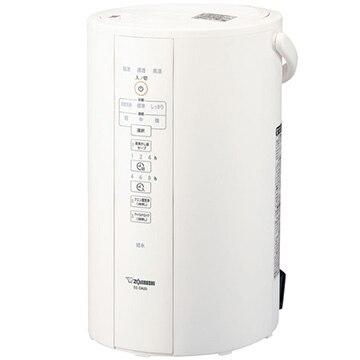 ZOJIRUSHI スチーム式加湿器 加湿量480ml/h 大容量4Lタンク ホワイト EE-DA50-WA