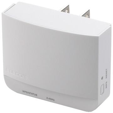 エレコム 11n/g/b WLAN中継器/300Mb/ホワイト WTC-300HWH