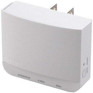 エレコム 11ac/n/a/g/b無線LAN中継器/433+300M/ホワイト WTC-733HWH