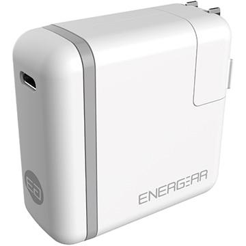 GOPPA 65W USB Type-C ACアダプター 1.8m ホワイト E00650A1CWHTUS